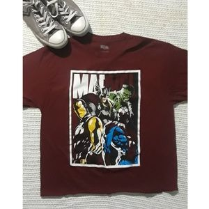 Cropped Marvel Tee!